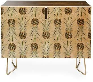 Apt2B Credenza by Lisa Argyropoulos PINEAPPLE JUNGLE EARTHY