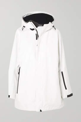 TEMPLA - Hooded Cotton-blend Parka - White