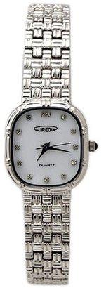 Aureole オレオール) 腕時計 白蝶貝文字盤ウォッチ SW-475L-3 レディース