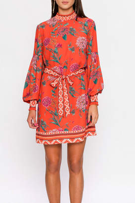 Flying Tomato High neck shift dress
