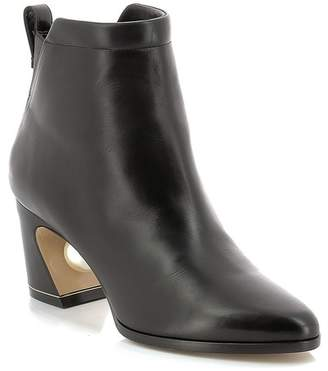Nicholas Kirkwood Tilda Faux Pearl Heeled Boot