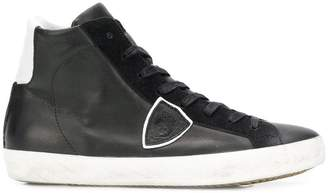 Philippe Model lace-up high top sneakers