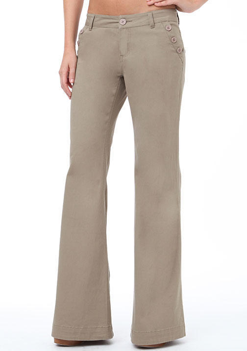Alloy Spoon Jeans Twill Sailor Wide-Leg Pant
