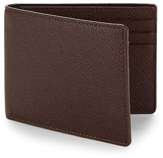 hook + ALBERT Men's Textured Leather Bi-Fold Wallet
