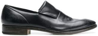 Premiata varnished slip-on loafers
