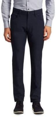 Armani Collezioni Techno Stretch Slim-Fit Trousers