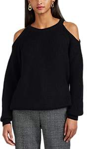 IRO Women's Lineisy Cold-Shoulder Rib-Knit Sweater