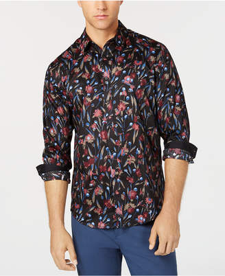 INC International Concepts I.n.c. Men's Deryck Floral Shirt, Created for Macy's