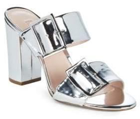 AVEC LES FILLES Millie Metallic Sandals