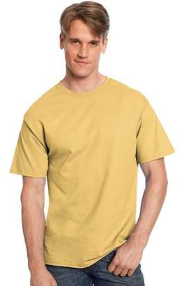 Hanes Mens Tagless T Shirt Gold Nugget Xx Large 2XL Gold Nugget