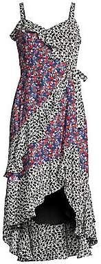 Parker Women's Multicolor Sleeveless Midi Dress