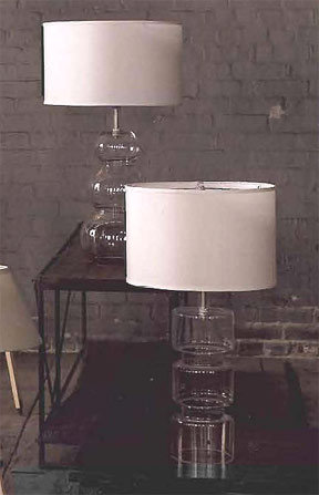 Roost Clear Glass Table Lamp