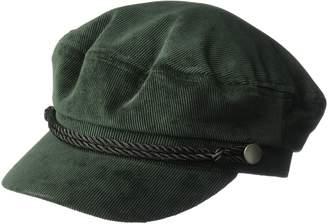 D&Y Women's Corduroy Fisherman Cabby hat