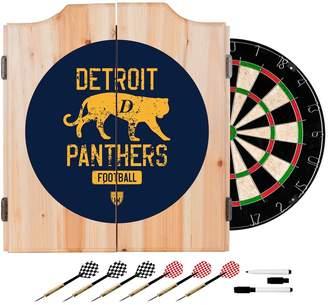 Kohl's Detroit Panthers Wood Dart Cabinet Set