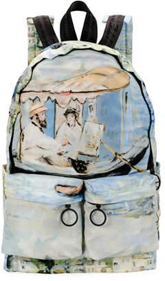 Off-White Men's Impressionist Lake Backpack
