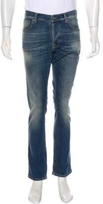 Nudie Jeans Grim Tim Straight-Leg Jeans