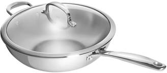 OXO Pro Tri-Ply Clad Stainless Steel 5-qt. Covered Wok