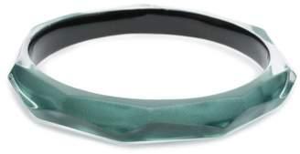 Alexis Bittar Skinny Faceted Bangle Bracelet