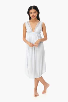 Eberjey Water Blue Sara Grand Nightgown