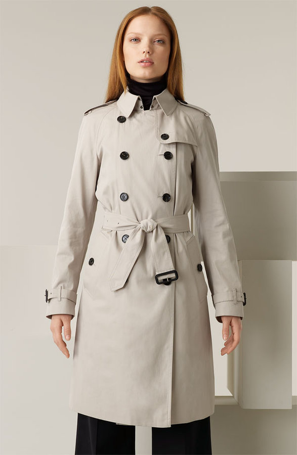 Burberry Cotton Twill Trench