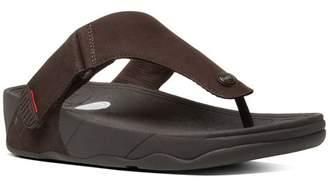 FitFlop Men's Trakk Ii Nubuck Flip Flops