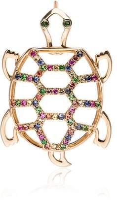 Leon Yvonne Gold Tortoise Diamond Earring