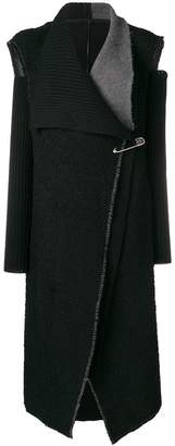 Masnada oversized deconstructed gilet