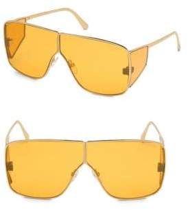 Tom Ford Spector 72MM Geometric Sunglasses