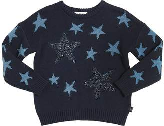 Little Marc Jacobs Cotton, Wool & Cashmere Sweater