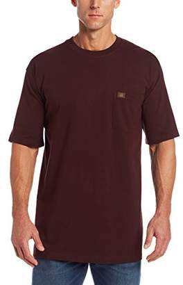 Wrangler RIGGS WORKWEAR Men's Big & Tall Pocket T-Shirt