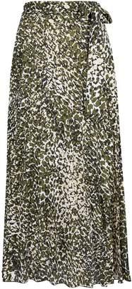 e46ca57634 Dorothy Perkins Womens **Tall Khaki Pleated Midi Skirt