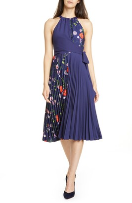 Ted Baker Hedgerow Halter Pleat Dress