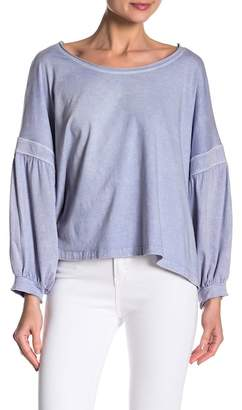 Honey Punch Bubble Sleeve Top