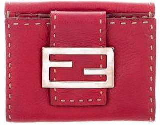 Fendi Smooth Leather Wallet