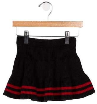 Ralph Lauren Girls' Striped Knit Skirt