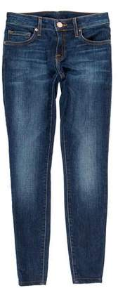 Joie Mid-Rise Cropped Jeans