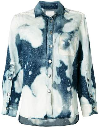Each X Other bleached effect denim jacket