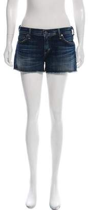 Citizens of Humanity Denim Mid-Rise Mini Shorts w/ Tags