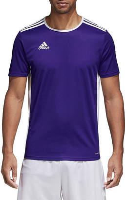adidas Mens Crew Neck Short Sleeve Jersey Athletic
