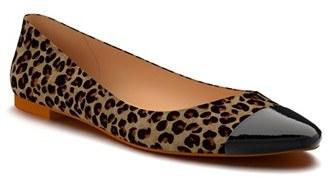 Women's Shoes Of Prey Cap Toe Ballet Flat $158.95 thestylecure.com