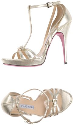 LUCIANO PADOVAN Sandals $318 thestylecure.com