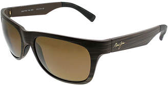 Maui Jim Unisex Kahi 57Mm Polarized Sunglasses