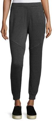 Elie Tahari Marissa Melange Jogger Pants, Gray $128 thestylecure.com