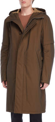 Helmut Lang Flat Hooded Coat