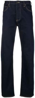 Emporio Armani straight cut jeans