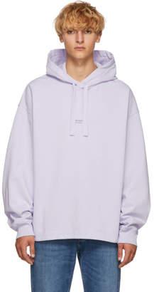 Acne Studios Purple Stellie Logo Hoodie
