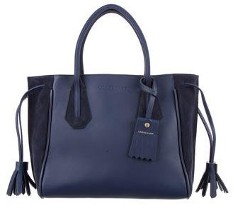 Longchamp Small Penelope Fantasie Leather Tote
