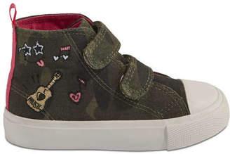 Joe Fresh Toddler Girls Camo High Top Sneakers