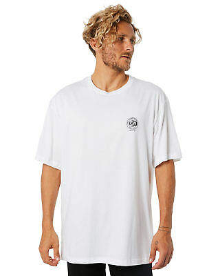 New Lower Men's League Mens Tall Tee Cotton White