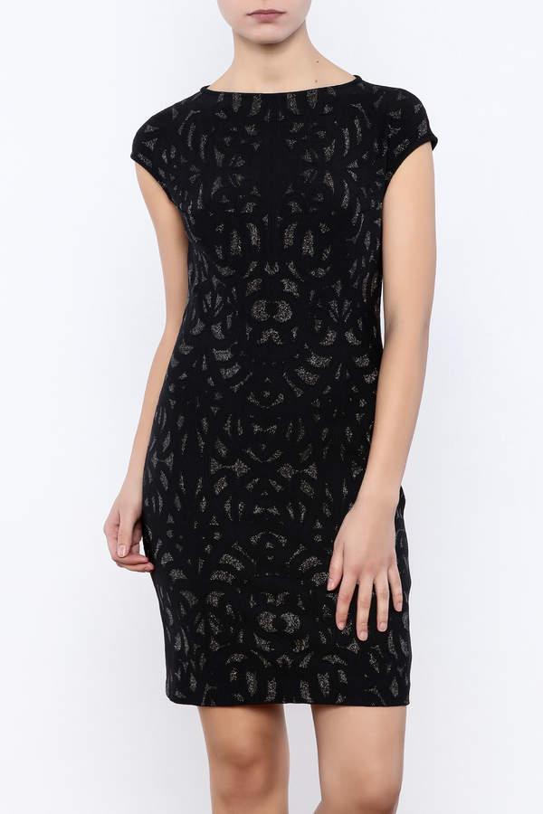 Julia Jordan Metallic Shimmer Dress
